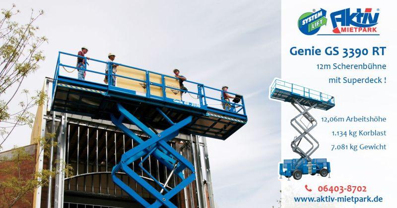 16aktivmietpark-genie-gs3390-rt-scherenbuehne-superdeck