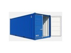 Material- und Lagercontainer 20 Fuss mieten